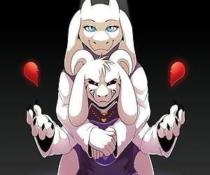 manga Undertail: LOVE or Be Loved, toriel , asriel dreemurr , western , furry