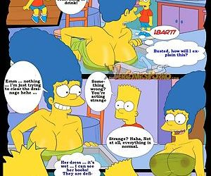 manga The Simpsons 3 - Remembering Mom, milf  incest