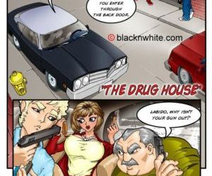 manga White Cops, Black Cocks 1 - The Drug.., gangbang , Interracial