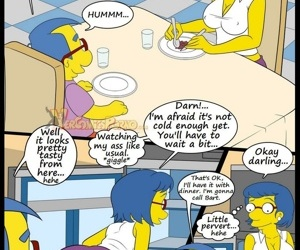 manga The Simpsons 6 - Learning With Mom, milf , incest