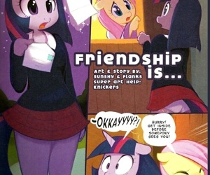 manga Friendship Is ...., furry , my little pony
