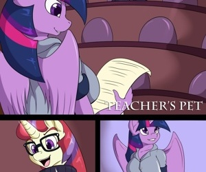 manga Teachers Pet, furry , my little pony