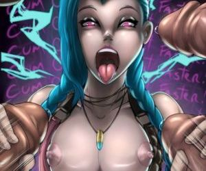 manga League of Legends - Heightes - Jinx, jinx , hentai , league of legends
