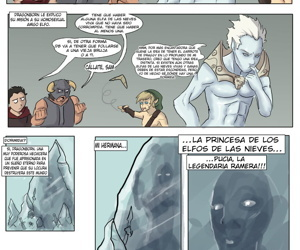manga El Devenir de Dragonborn - part 2, aela the huntress , babette , anal , western