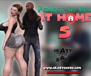 manga CrazyDad- Father-in-Law at Home Part 5, milf  blowjob