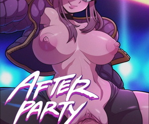 manga After Party, ahri , evelynn , anal , western  league of legends