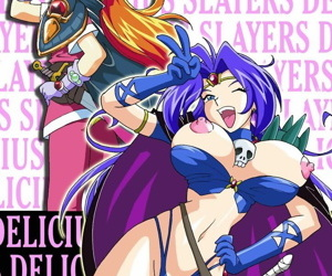 manga Slayers Delicious, gourry gabriev , lina inverse , western , big breasts