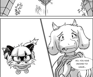 manga Undertale, furry