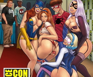 manga Fan-Service Con, mary jane watson , black cat , western , nakadashi
