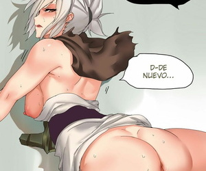 manga Endurance Test Irelia & Riven - part 3, irelia , riven , league of legends  doujinshi