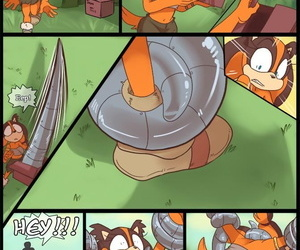 manga Kayla-Na A Present for Sticks Sonic.., sticks the badger , western , furry