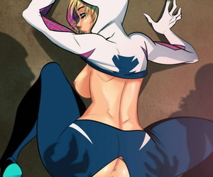 manga Spider-Gwen #2, gwen stacy , western , muscle
