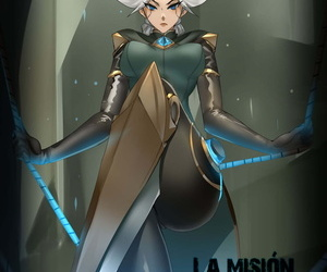 manga The Steel Shadow - The Mission Begins.., camille , rape , pantyhose  league of legends