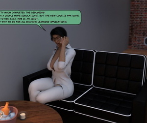 manga Treedeeerotica – Kim the genius, big breasts , big ass  footjob