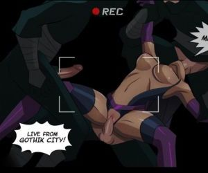 manga Slave Crisis 3 - Triple Threat - part 2, superheroes  rape