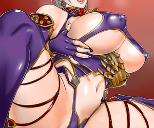 manga SoulCalibur Collection - part 10, ivy valentine , sophitia alexandra , blowjob , furry  bodysuit