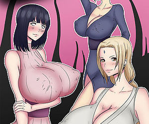 manga Shikamaru Shadow Technique, hinata hyuga , tsunade , anal , big breasts  big-breasts