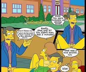 manga The Simpsons 5 - New Lessons, milf , incest  son
