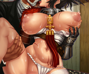 manga Artist Galleries ::: L Axe - part 3, western , big breasts  demon-girl
