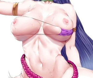 manga Character Set - Minamoto No Raikou -.., minamoto no raikou , big breasts , nakadashi  swimsuit