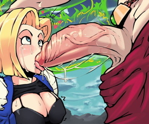 manga Broly x Android 18, hentai , dragon ball  dragon-ball