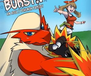 manga Rainbow Flyer Blaziken Burst!! Pokemon.., may , blaziken , blowjob , western  pokemon