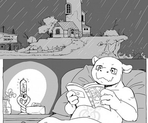 manga Rainy Night, furry , hentai  yaoi
