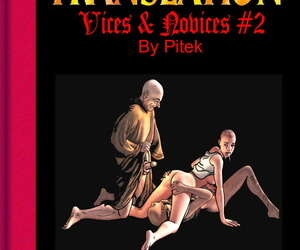 english manga Pitek Vices & Novices #2 English, blowjob , anal  bodysuit