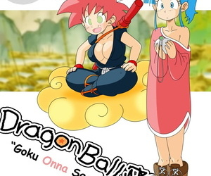 manga Dragon Ball Yamete: Goku Onna Saga, bulma briefs , son goku , big breasts  western