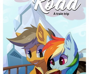 manga Hioshiru Tale Road: A Train Trip My.., rainbow dash , blowjob , western  my-little-pony