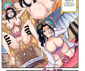 manga Oukokusan Kakutou Oukoku CHOP STICK.., nico robin , tony tony chopper , furry , big breasts  big penis
