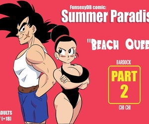 manga Summer Paradise Part 2, chi chi , bardock , western , big breasts  swimsuit
