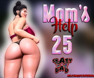 manga Crazydad- Mom's help 25, milf , big ass  incest